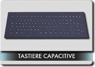 Menu tastiere Capacitive